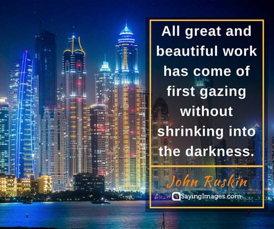 john ruskin dark quotes
