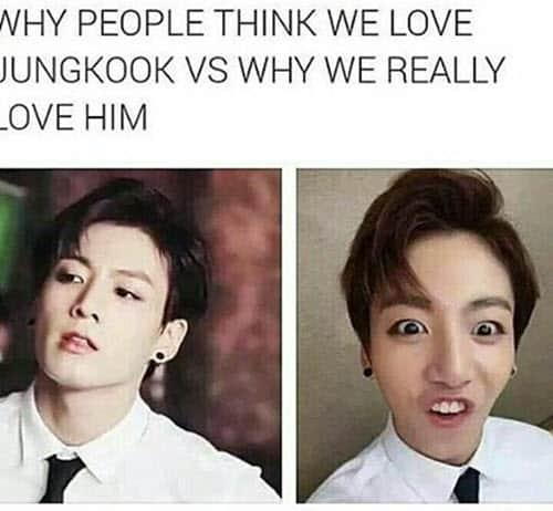jungkook love meme