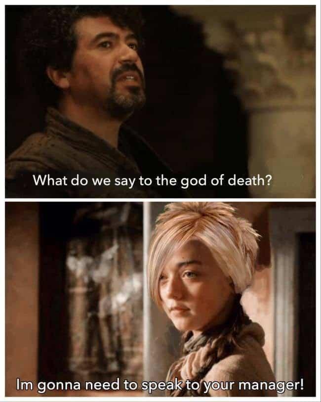 karen god of death meme