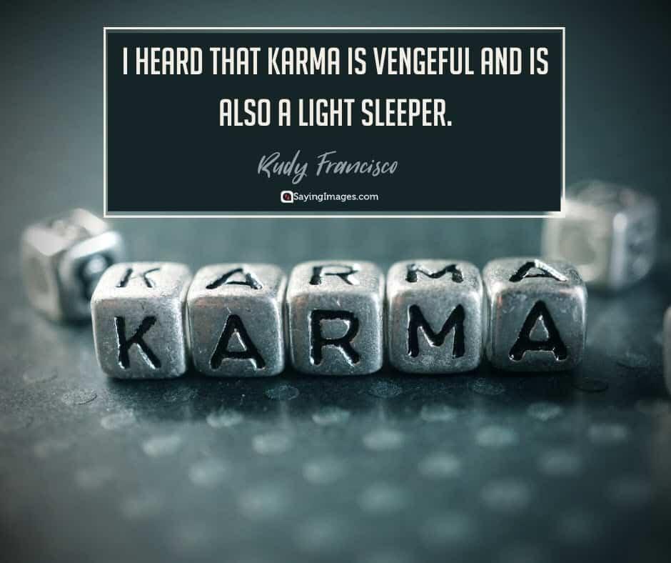 karma vengeful quotes