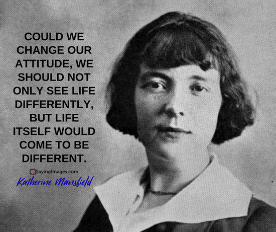 katherine mansfield change quotes
