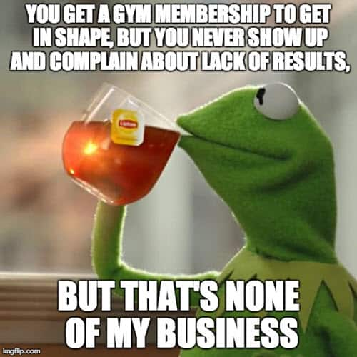 kermit the frog none of my business memes
