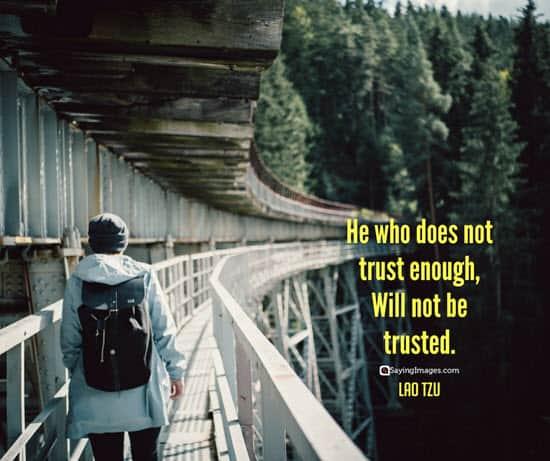 lao tzu trust quotes