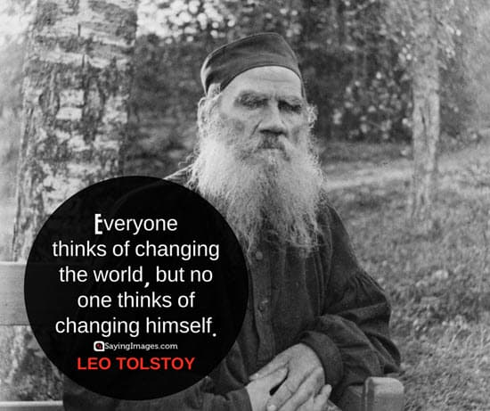 leo tolstoy change quotes