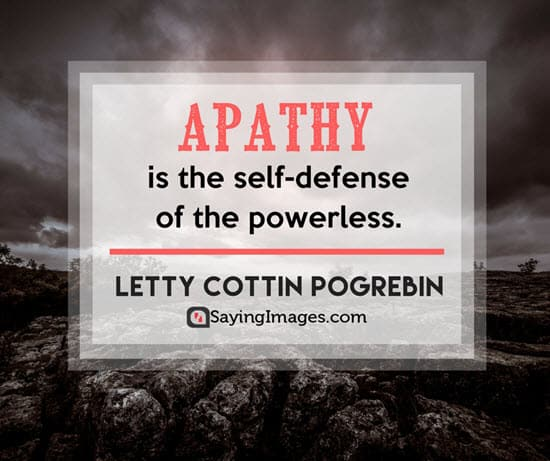 letty cottin pogrebin apathy quotes