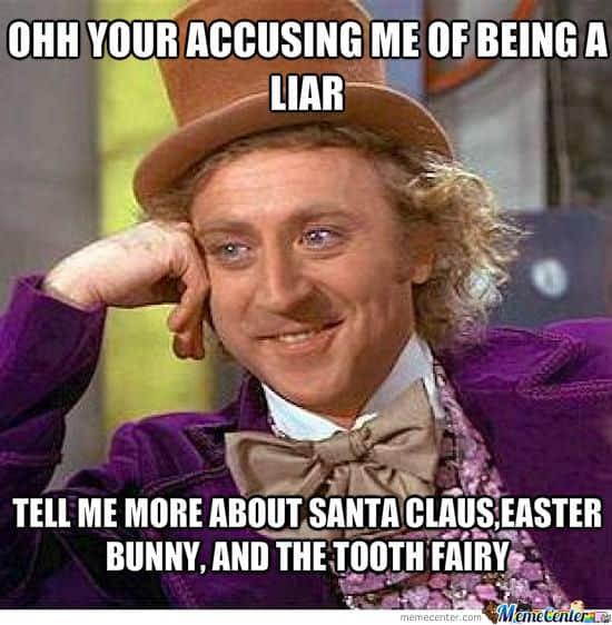 liar accusing meme
