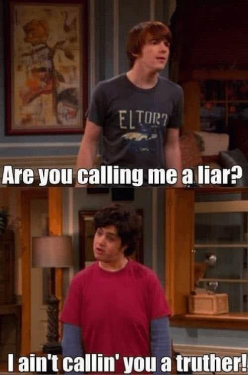 liar truther meme