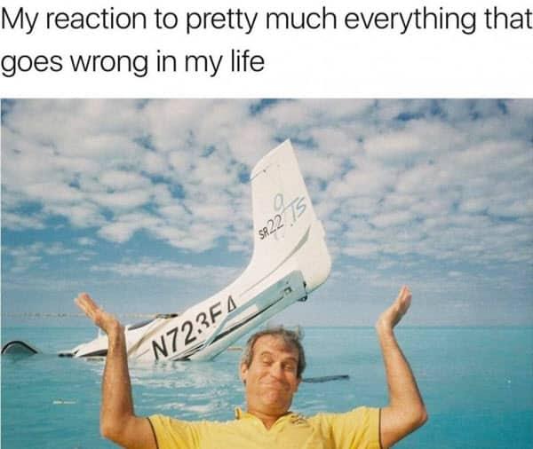 life reaction meme
