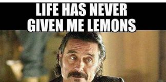 life sucks lemons meme