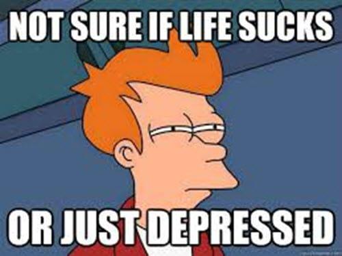 life sucks not sure meme