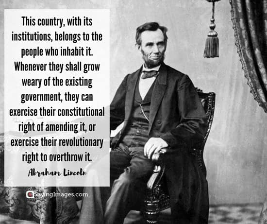 lincoln quotations