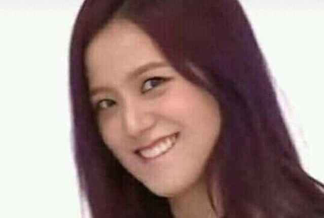 lip bite jisoo meme