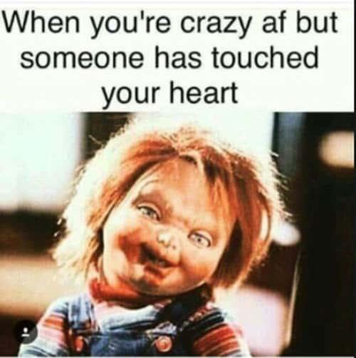 love crazy af memes