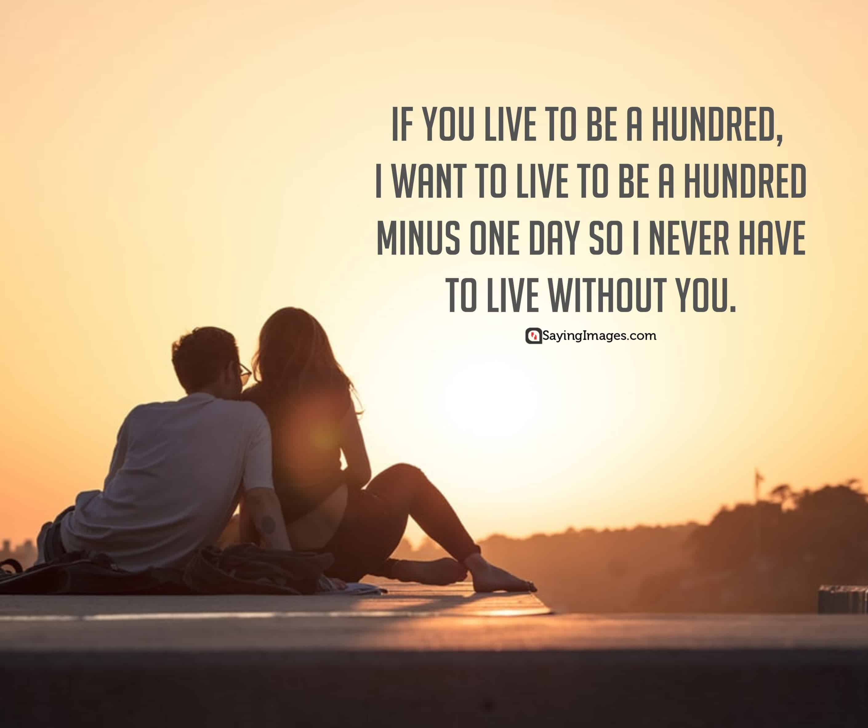 love quotes live for him her