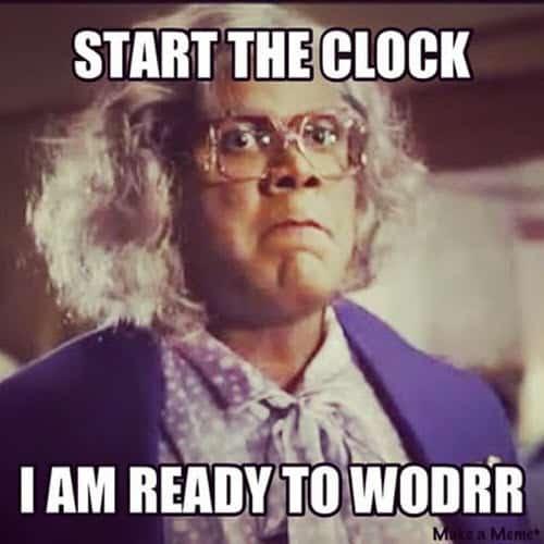 madea start the clock meme