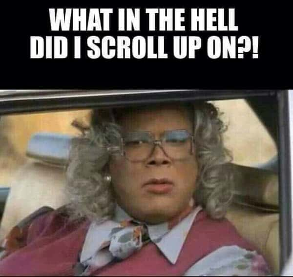 madea what in the hell meme