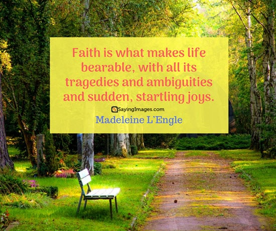 madeleine l engle faith quotes