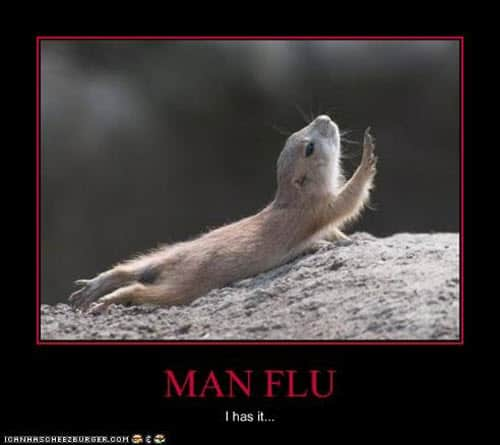 man flu i has it meme