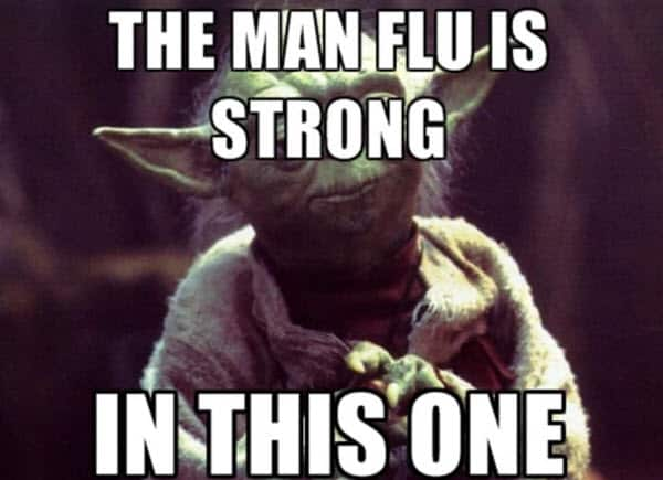 man flu is strong meme