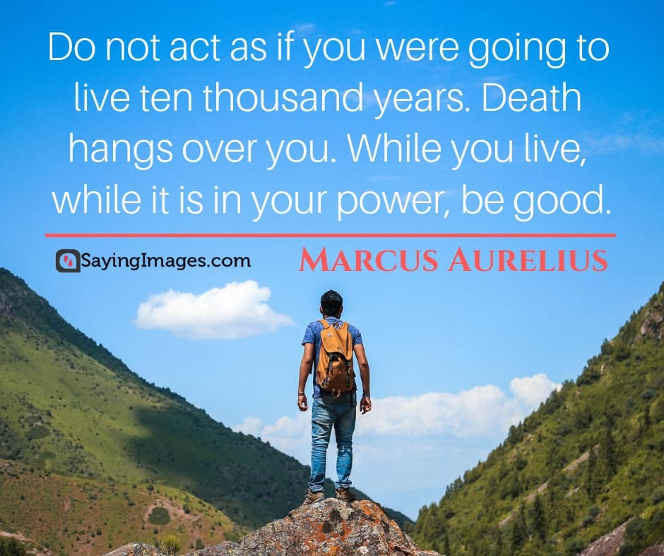 marcus aurelius goodness quotes