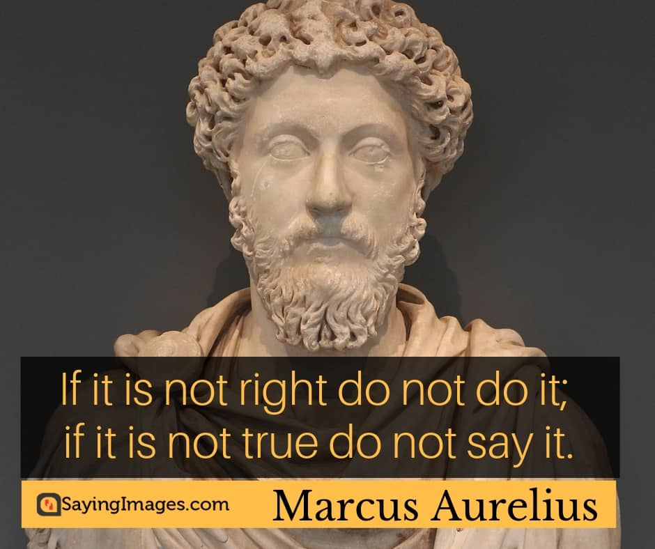 marcus aurelius integrity quotes