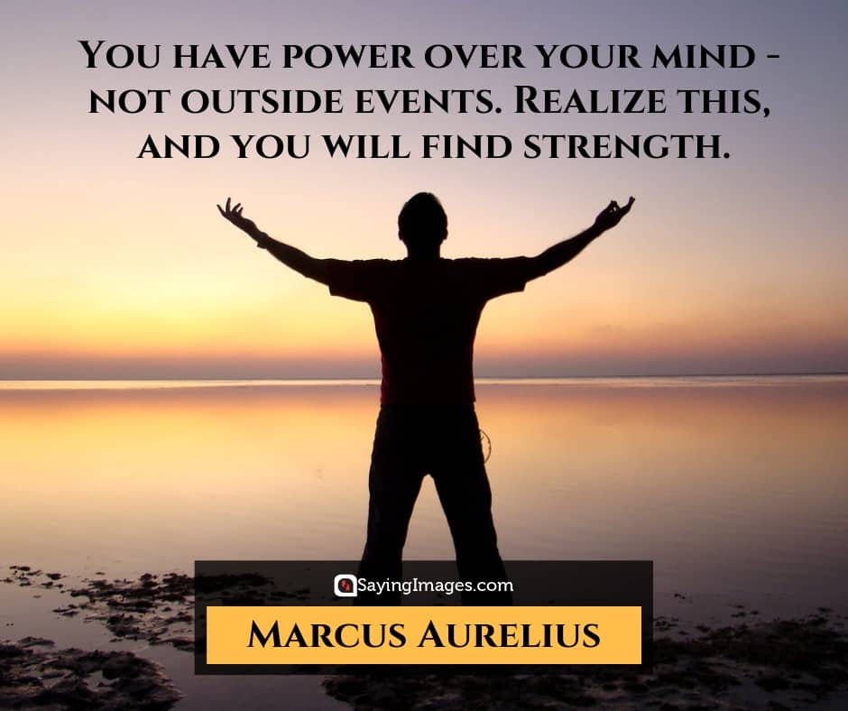 marcus aurelius power and strength quotes