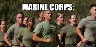 marine corps 50 shades of green memes