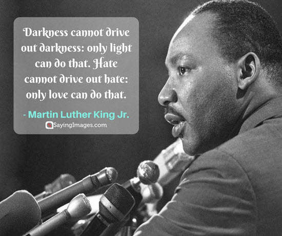 martin luther king hate quotes
