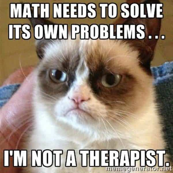 45 Funny Math Memes We Can All Relate To Sayingimages Com