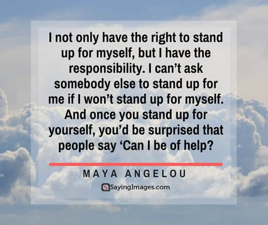 maya angelou stand up quotes