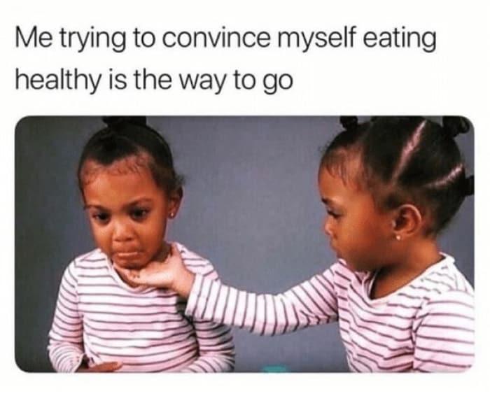 20 Funny Life Changing Eating Healthy Memes Sayingimages Com