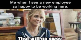 new employee meme
