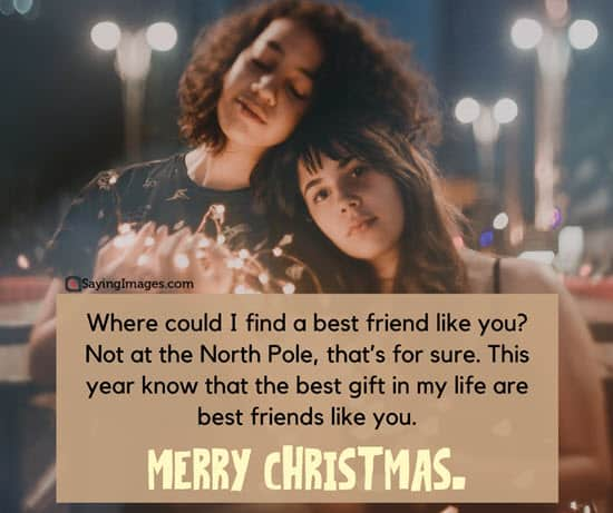 merry christmas quotes bestfriends