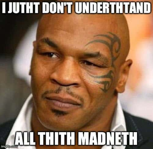 mike tyson dont understand memes