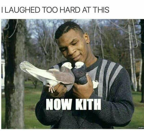 mike tyson now kith memes