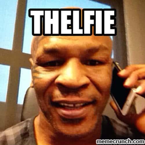 mike tyson thelfie memes