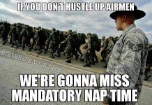 miss amndatory nap time air force memes