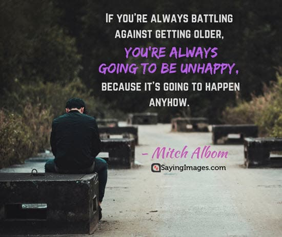 mitch albom unhappy quotes
