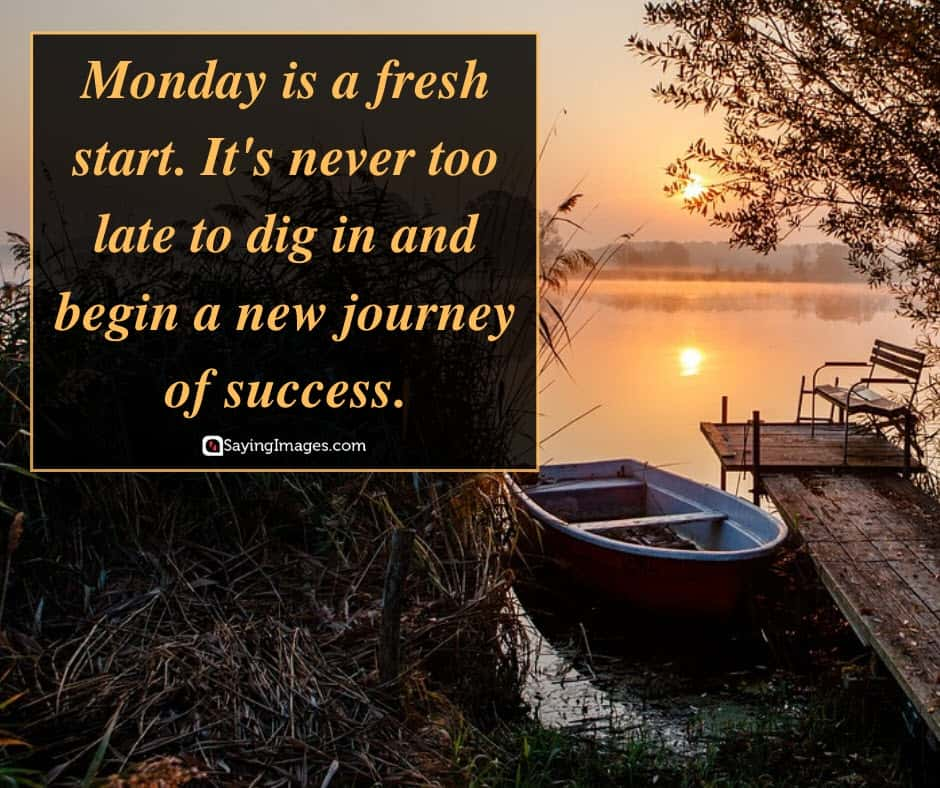 monday journey quotes