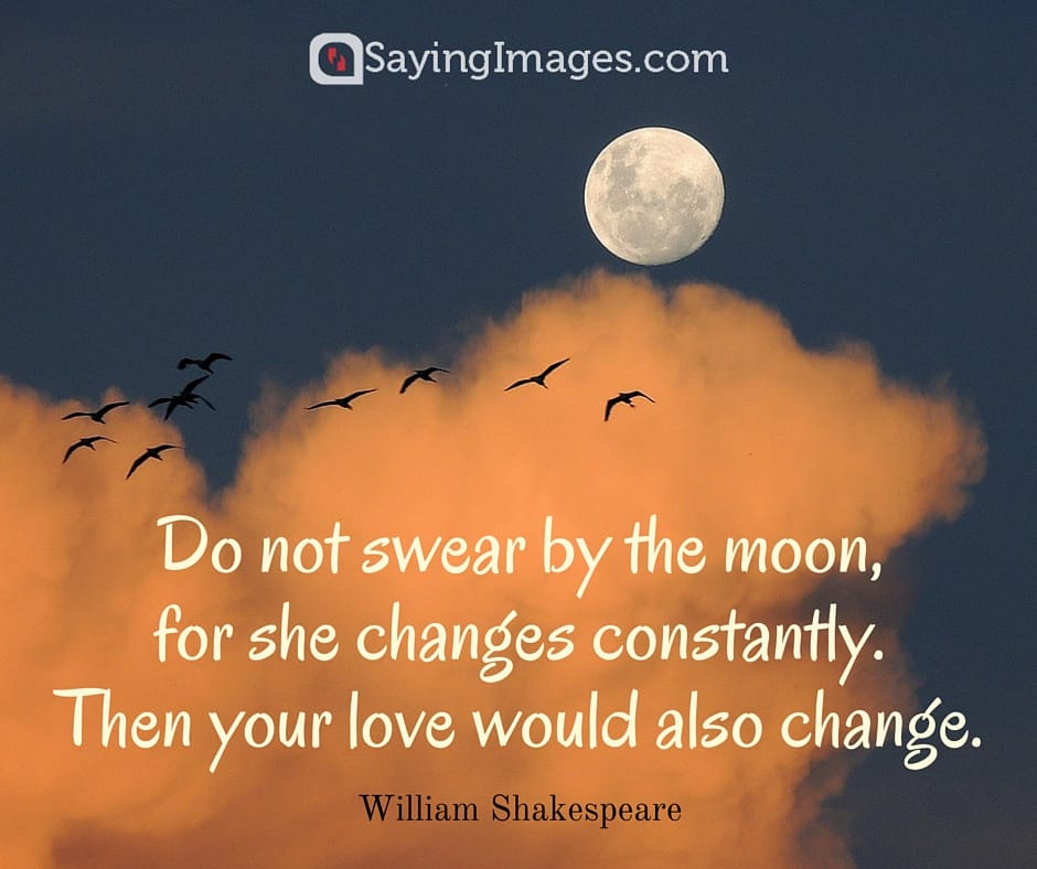 moon quotes shakespeare