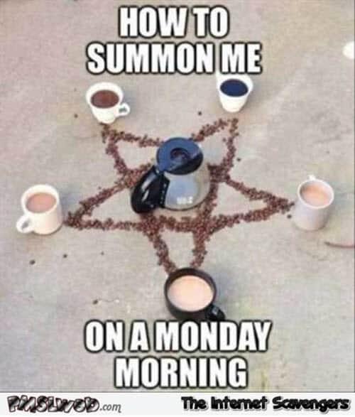 morning summon me meme