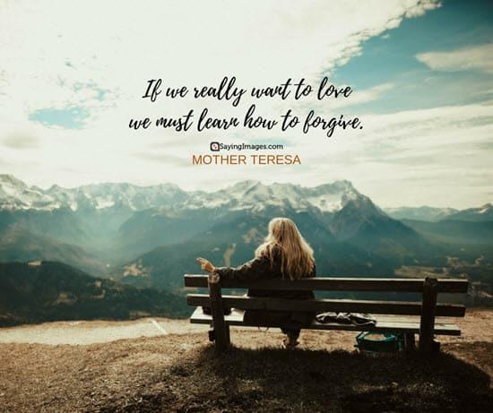 mother teresa forgiveness quotes