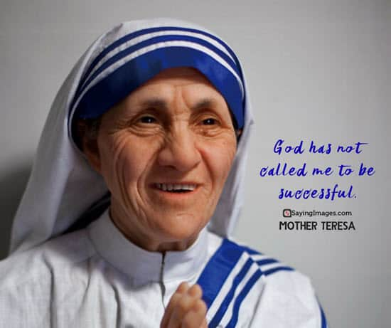 mother teresa god quotes