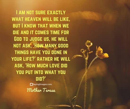 mother teresa heaven quotes