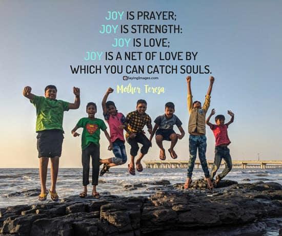 mother teresa joy quotes