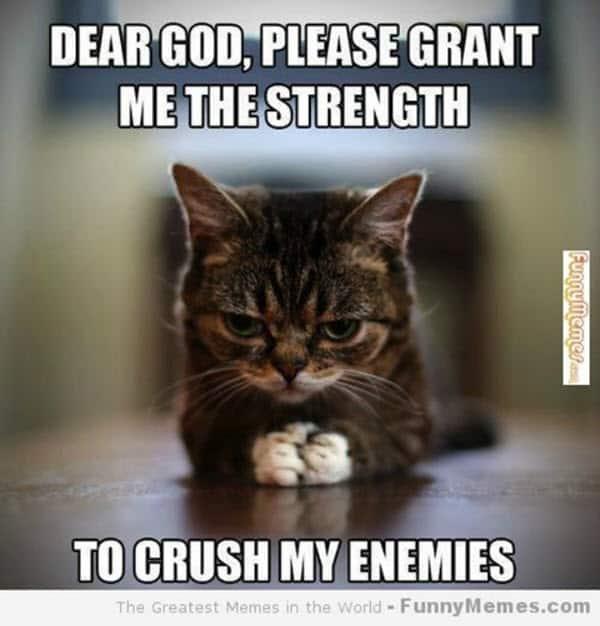 motivational dear god memes