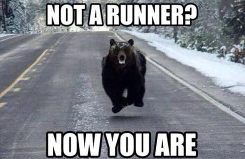 motivational not a runner memes