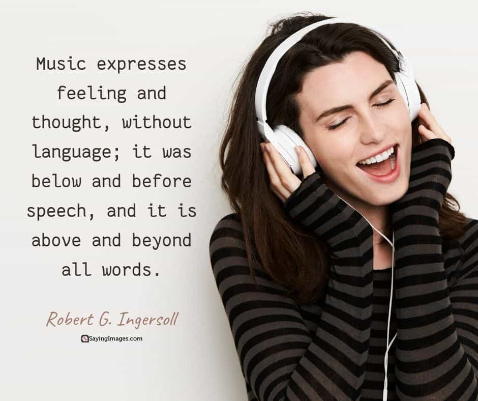 music feelings quotes