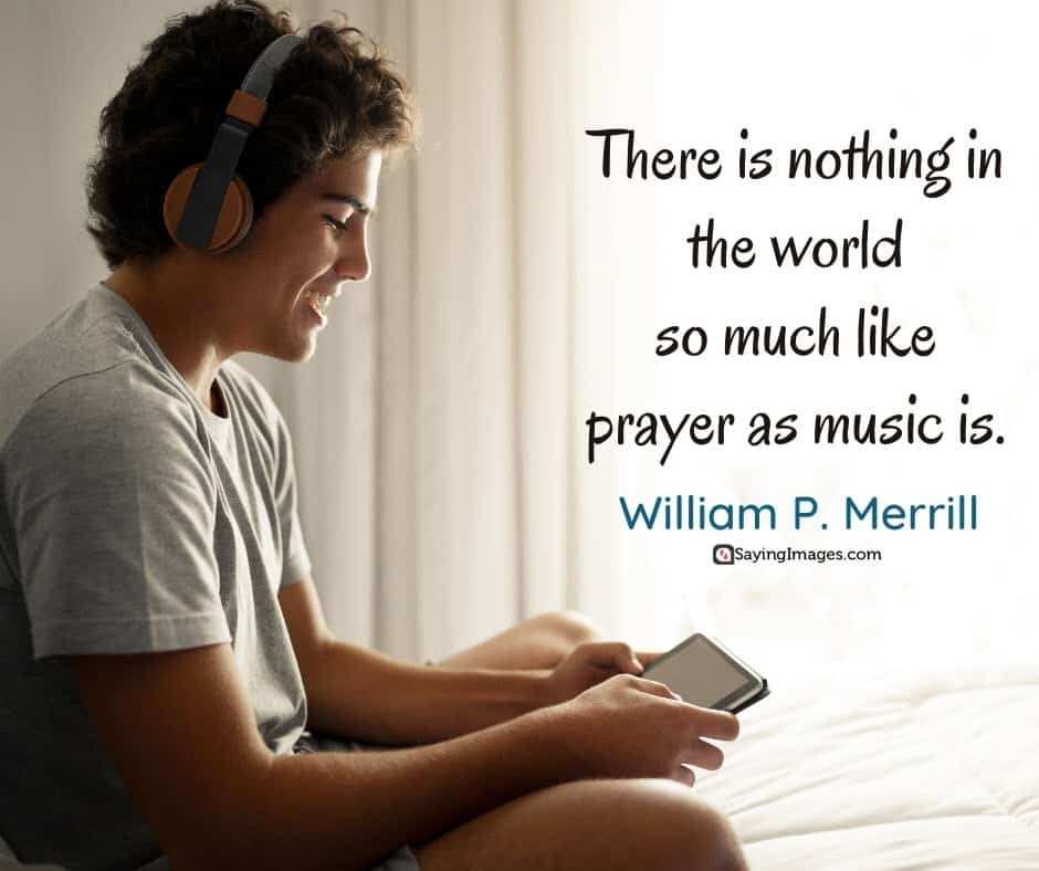 music prayer quotes