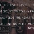 music quotes love